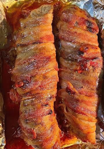 Nor's Bacon Wrapped Pork Tenderloin