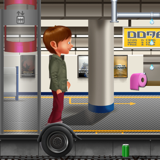 Subway hoverboard (game)