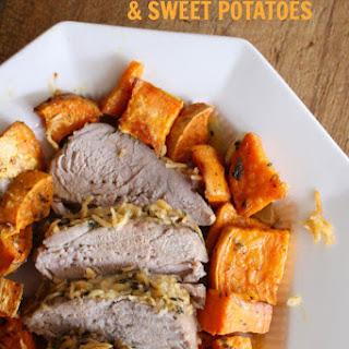 Italian Pork Roast with Sweet Potatoes