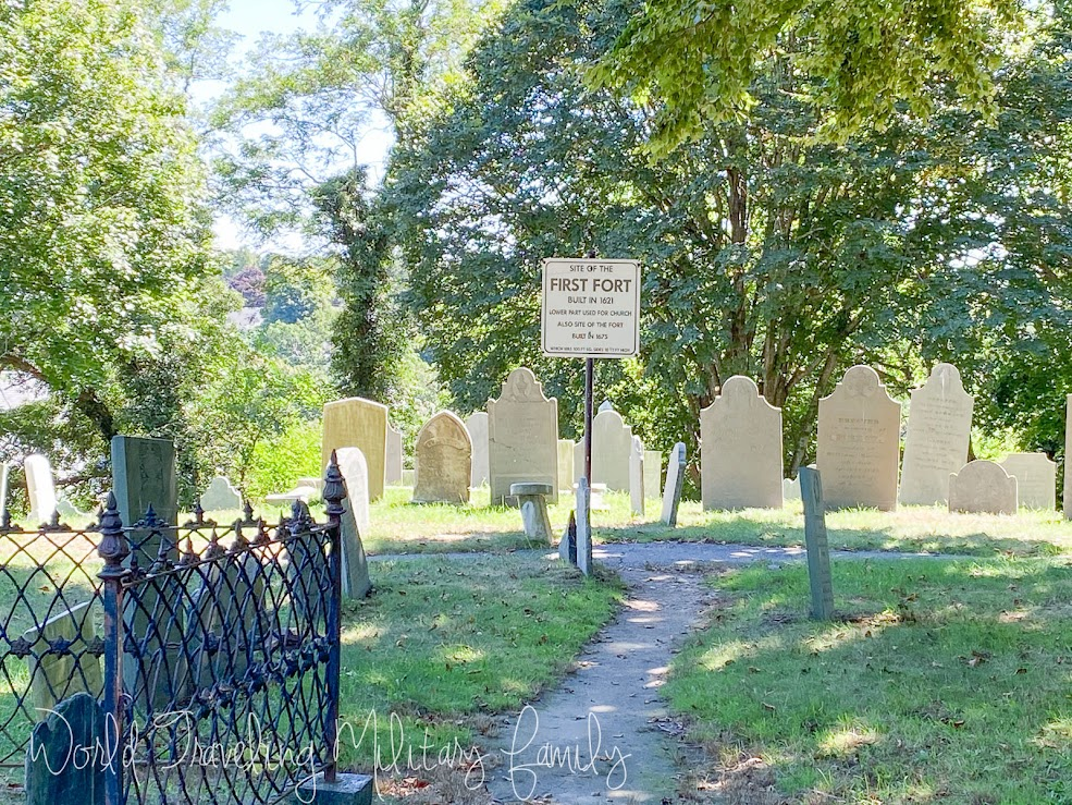 Plymouth, MA - First fort site Burial Hill