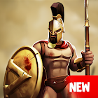 Gladiator Heroes Clash - Best strategy games icon