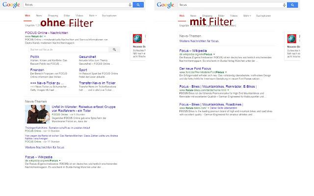 Leistungsschutzrecht-Filter