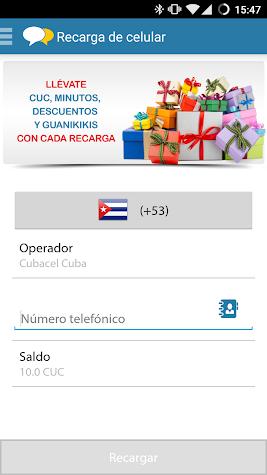 DimeCuba Screenshot