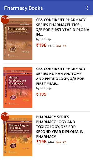 Pharmacy Books at Amazon 1.0 screenshots 5