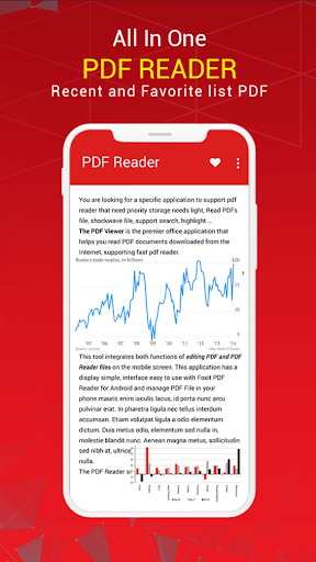 Screenshot for PDF Reader, PDF Viewer for Android in United States Play Store