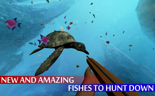 Spearfishing Wild Shark Hunter - Fishing game apkpoly screenshots 5