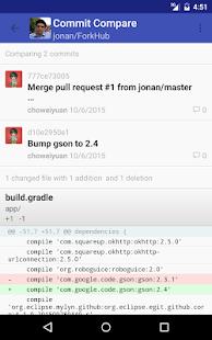 ForkHub for GitHub Screenshot 14