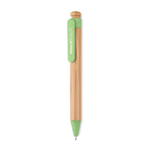 Pen made from Bamboo, Wheat & Straw