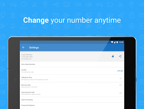Download Talkatone: Free Texts, Calls & Phone Number APK latest