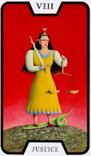 Photo: .VIII. Justice - A Justiça Tarot of the Witches - Fergus Hall