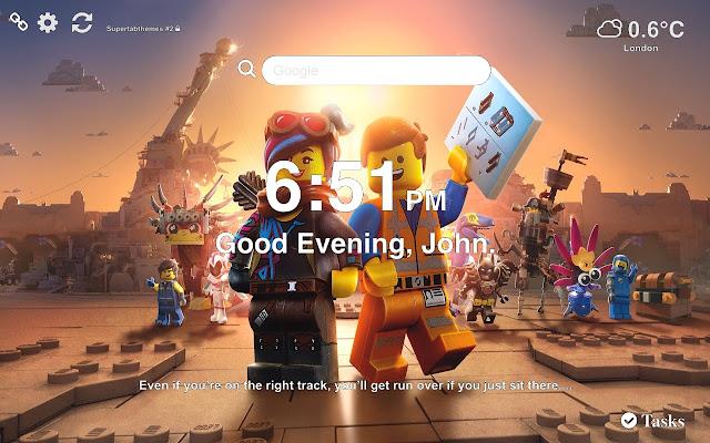 Lego Movie HD Wallpaper 2019 Tab Theme