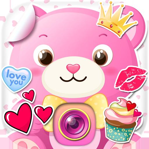 Cute Love Photo Stickers Icon