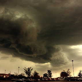 Storm by Jason Arand - Landscapes Cloud Formations ( scary, stormy, clouds, weather, storm )
