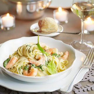 Seafood Casserole With Rice or Pasta.