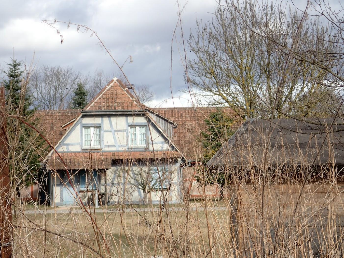 maison typique alsacienne (écomusée d'Alsace)