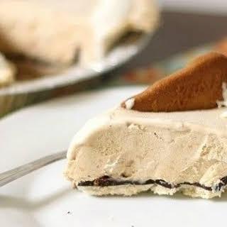 Biscoff Cookie Spread Ice Cream Pie.