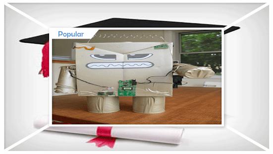 Unique Styrofoam Robot ideas - náhled