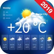 App Icon for Live Weather Forecast Radar 2019 App in United States Play Store