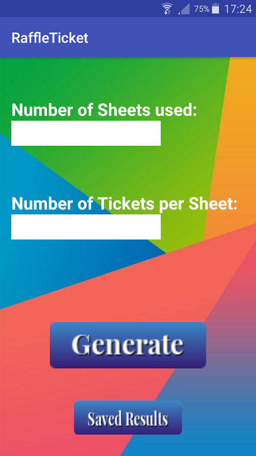 Raffle Ticket Generator Android Apps on Google Play