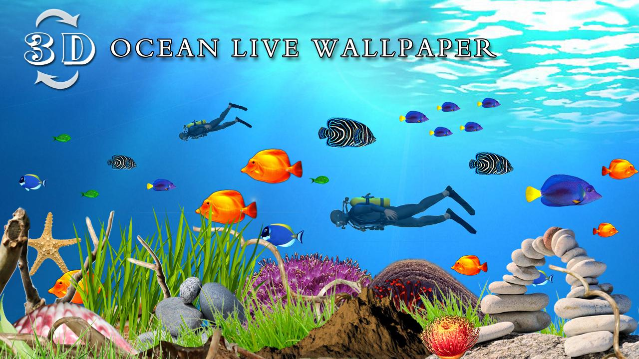 Ocean Fish Live Wallpaper HD Android Apps on Google Play