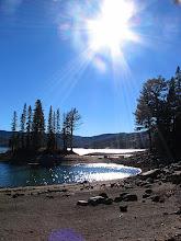 Photo: silver lake lens flare!