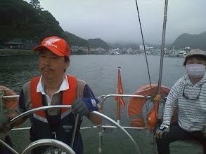 Photo: 8月2日の朝、横浜に向けて出港