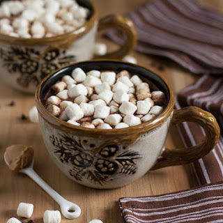 Milk Chocolate Peanut Butter Hot Chocolate