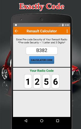 Radio Precode Cal For Renault  screenshots 3