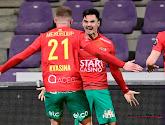 Jelle Bataille heeft gisterenavond zijn eerste doelpunt gescoord voor KV Oostende dit seizoen