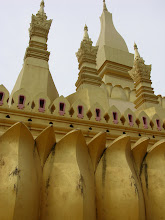 Photo: Gilded Pha That Luang in the capital, Vientiane