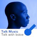 Talk Music Talk with boice icon