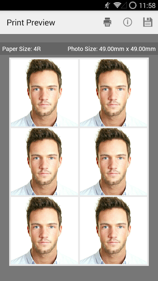 Passport Photo ID Studio- screenshot