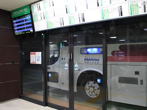 西鉄高速バス「桜島号」 9135 博多バスターミナルにて その1