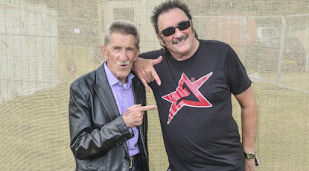Paul Chuckle's tears at brother Barry's funeral