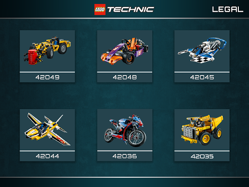 LEGO® Building Instructions - Apps - Technic LEGO.com