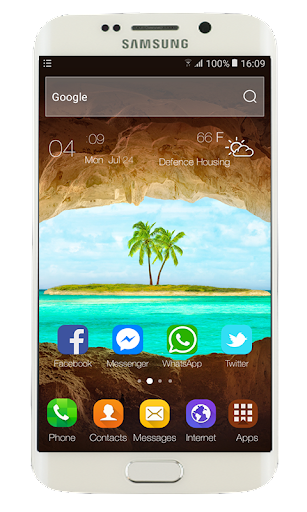 Launcher Theme for Oppo Realme 2 ss1