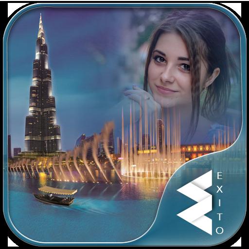 Dubai Fountain Photo Frames