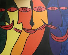 Photo: Visage4' x 5'2008Acrylic on Canvas