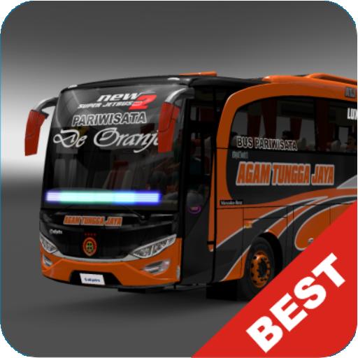 Livery Bussid Agam Tungga Jaya Atj 4 0 Apk Download