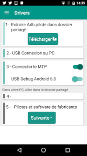 USB Drivers for Android – Vignette de la capture d'écran