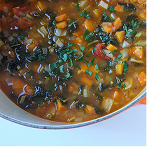 Vegetable Soup with Fennel and Kale Recipe