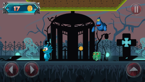 Télécharger Gratuit Blue monster adventure mod apk screenshots 4