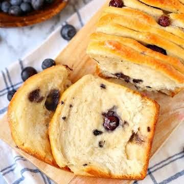Blueberry Pull-Apart Bread