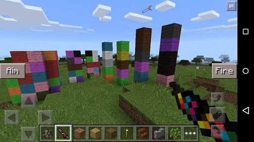 Weapons Mod Minecraft Guns 1.4 screenshots 2