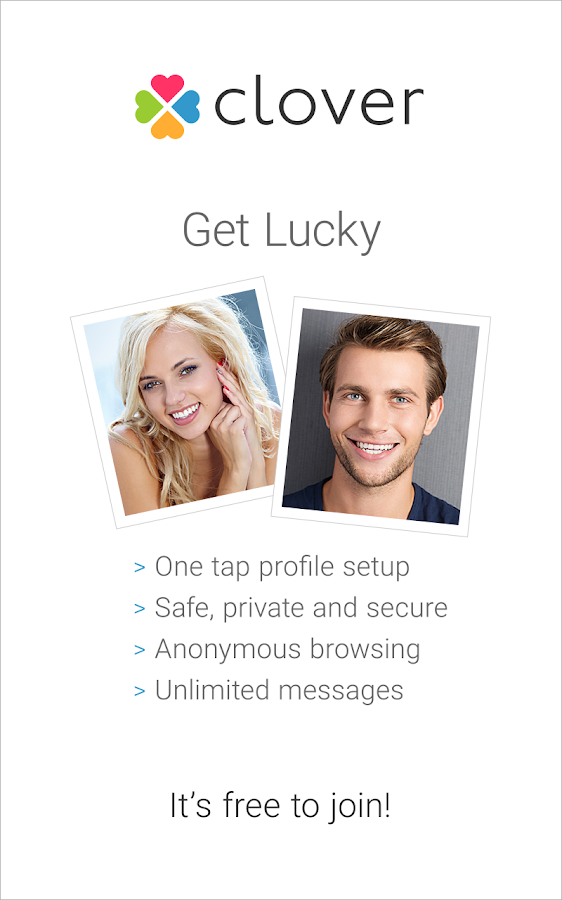 clover singles & personals Meet real successful & attractive singles best free millionaire match site to meet wealthy man and woman free to sign up.
