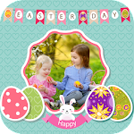 Happy Easter Photo Frame