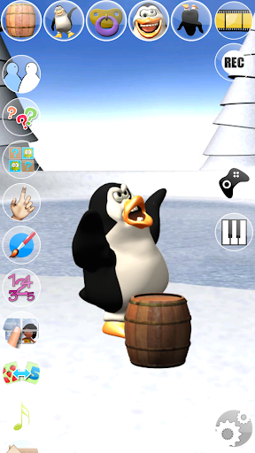 Sweet Little Talking Penguin apkpoly screenshots 3