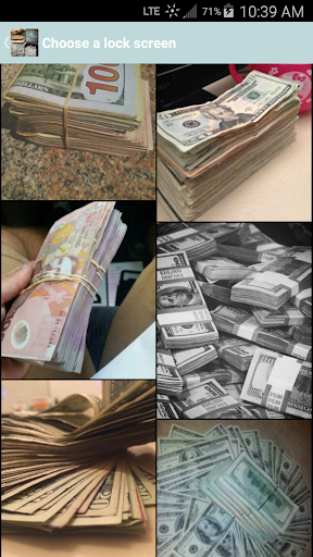 Money Lock Screens