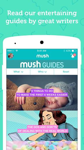 Mush - meet local mom friends Screenshot