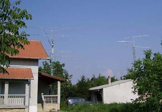 Photo: YU7XL antennas
